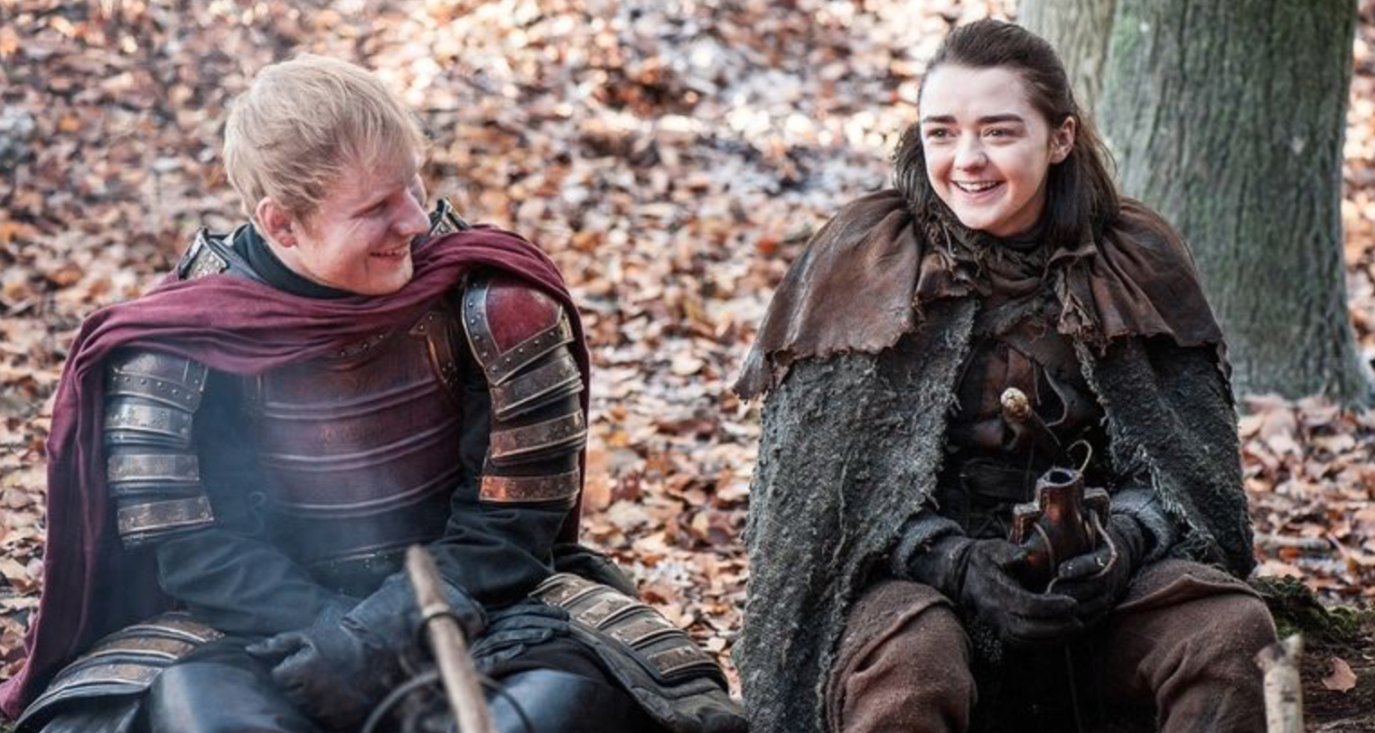 Ed Sheeran borra su Twitter por el bullying tras su cameo en GoT