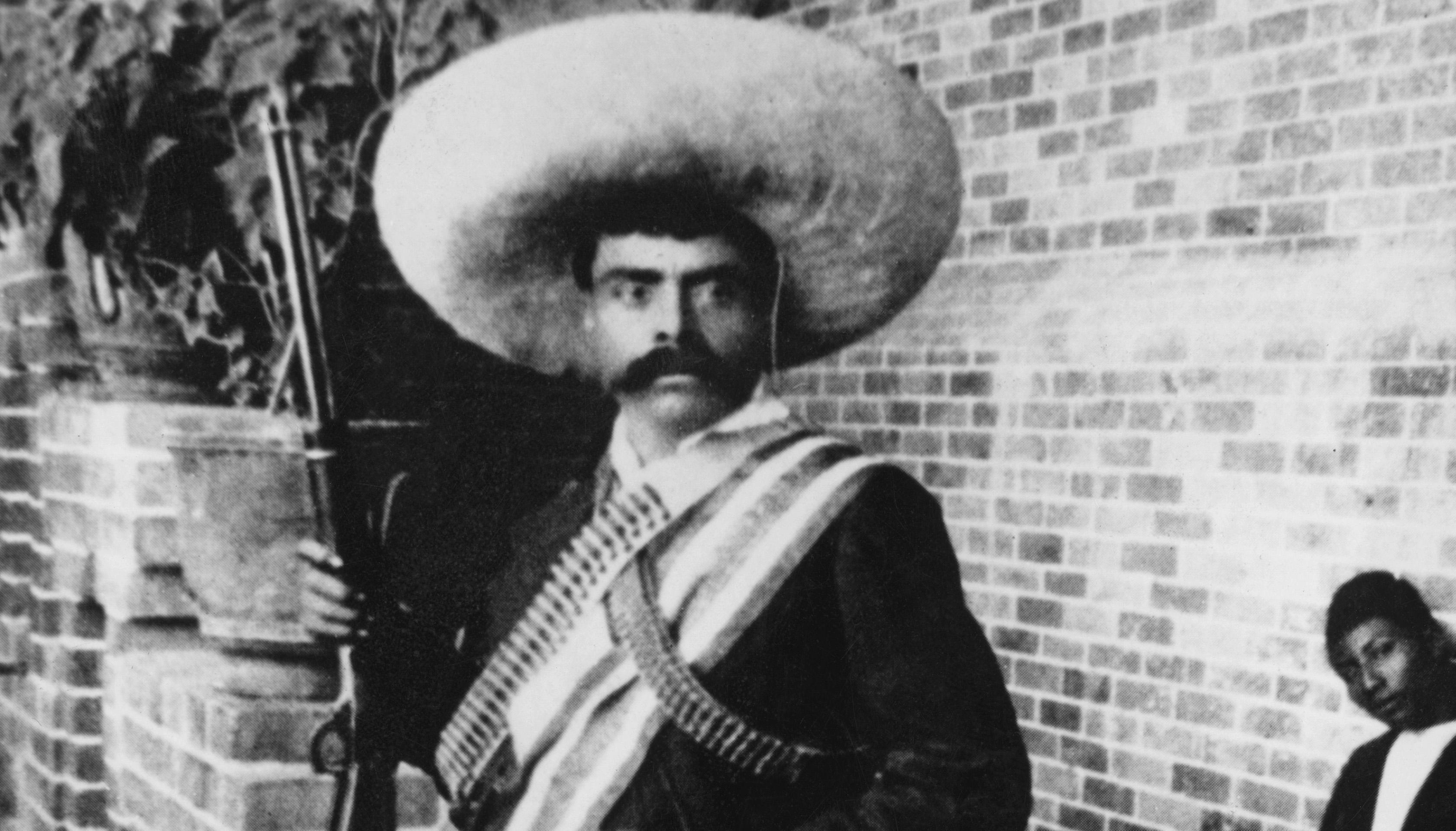 Emiliano Zapata, líder revolucionario, o como algunos lo conocen: el del billete de diez pesos