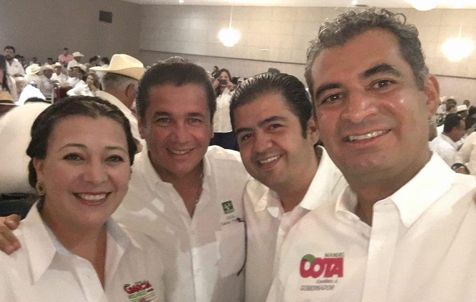 Carlos Puente, aspirante presidencial por parte del Partido Verde