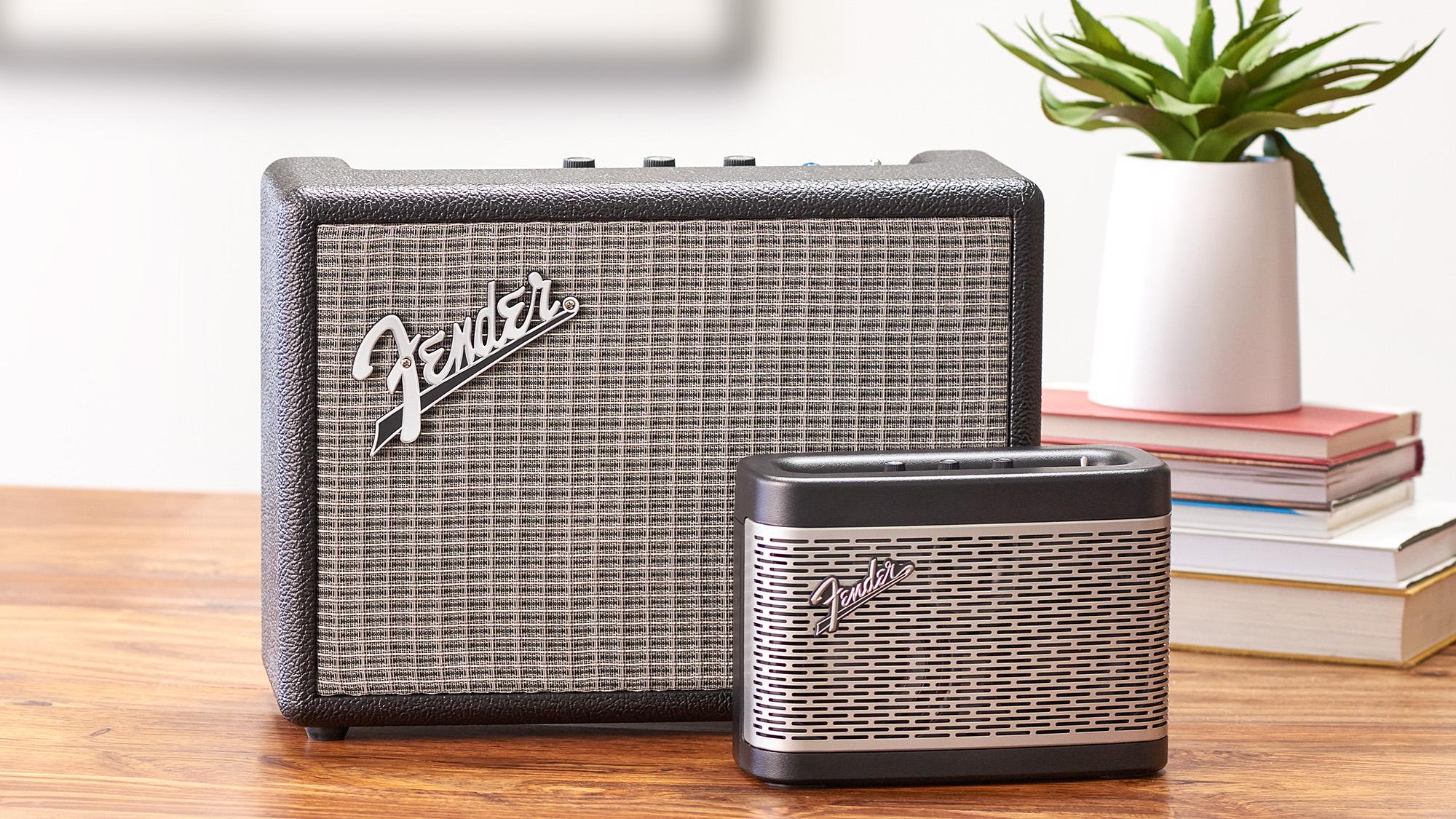 Fender se pone minimalista con estas dos bocinas portátiles