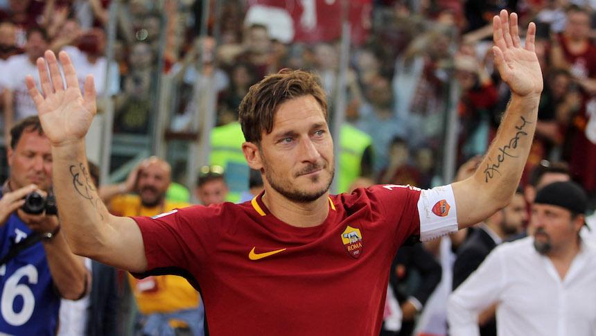 Totti confirma que sí se retira y será directivo de la Roma