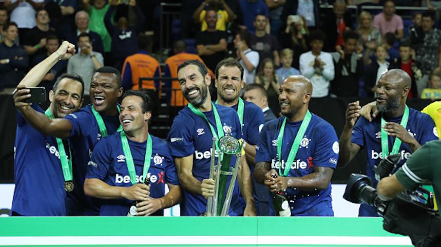 Francia se corona campeón del Mundial de Leyendas