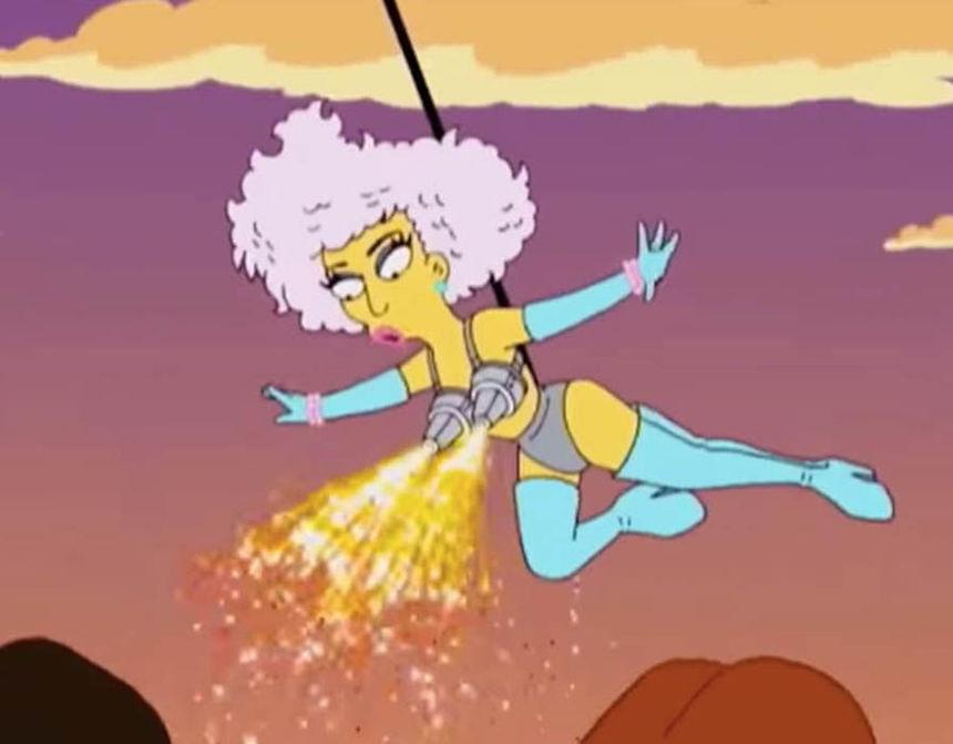 Los Simpson - Lady Gaga