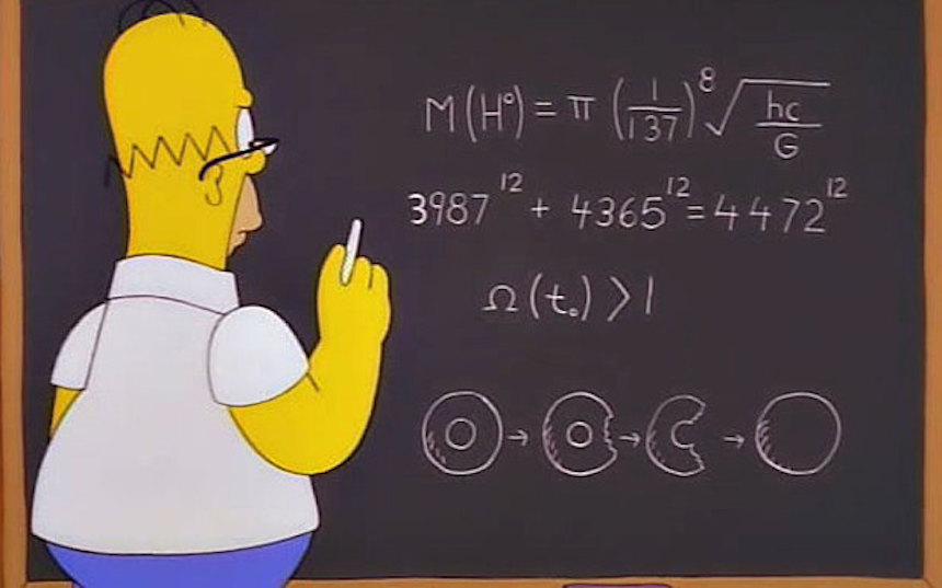 Los Simpson - Partícula de dios