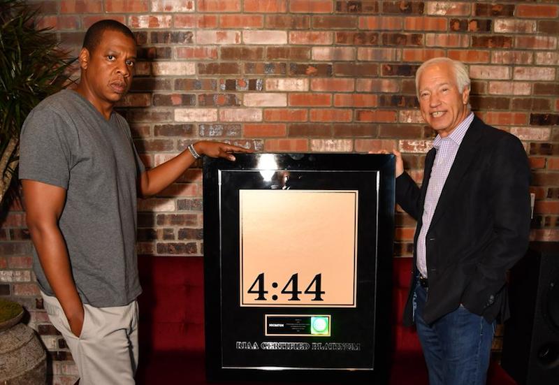 Jay Z obtiene certificado de platino con '4:44' ¡en menos de una semana!