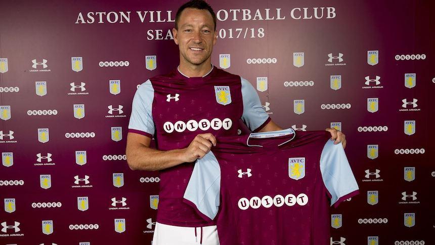 Oficial: John Terry nuevo jugador del Aston Villa