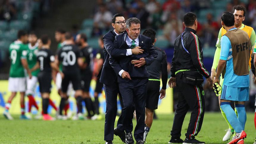 Osorio promete que no habrá más 'teatritos' contra los árbitros