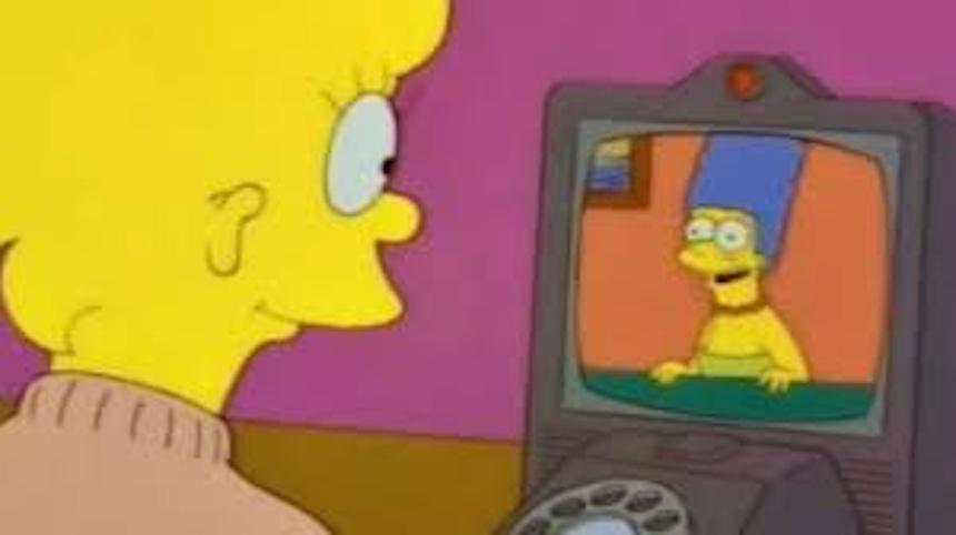 Los Simpson - FaceTime