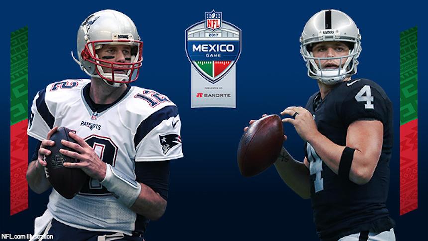 ¡Tenemos fecha para la preventa del Patriots vs Raiders en México!