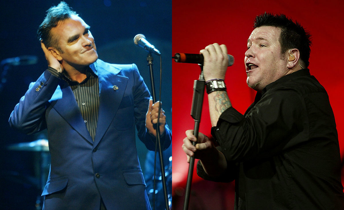 Morrissey es fan de Smash Mouth según Smash Mouth