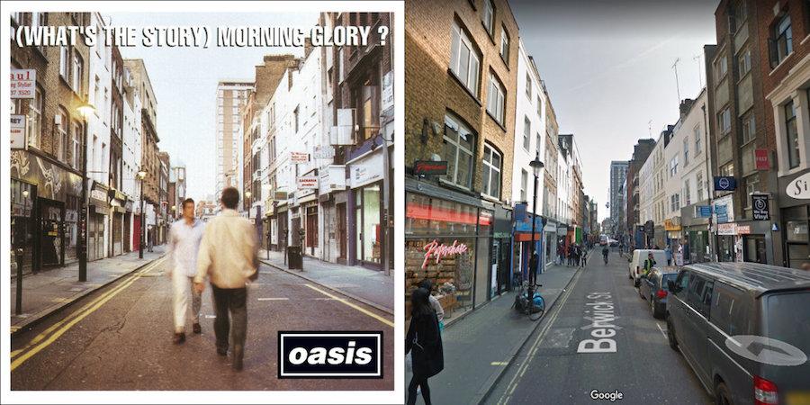 Así han cambiado los lugares donde nacieron 10 de tus portadas favoritas