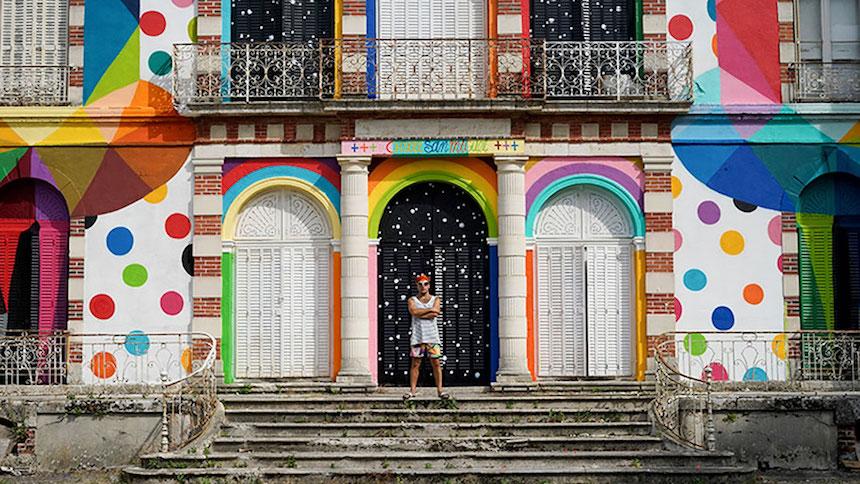 Okuda San Miguel - Artista francés