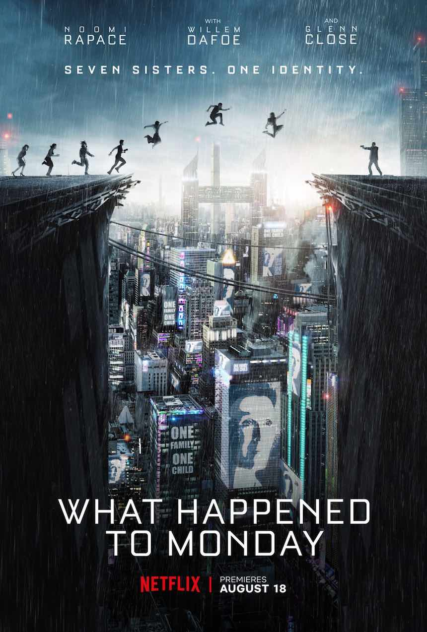 Póster - What Happened to Monday?