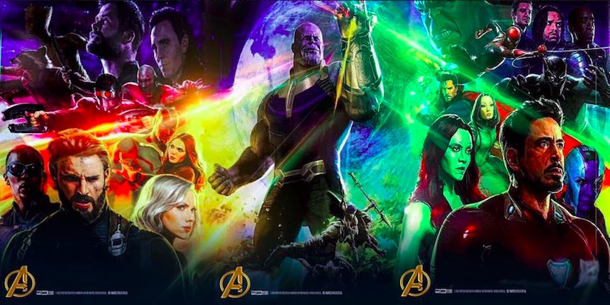 Avengers: Infinity War - Póster completo