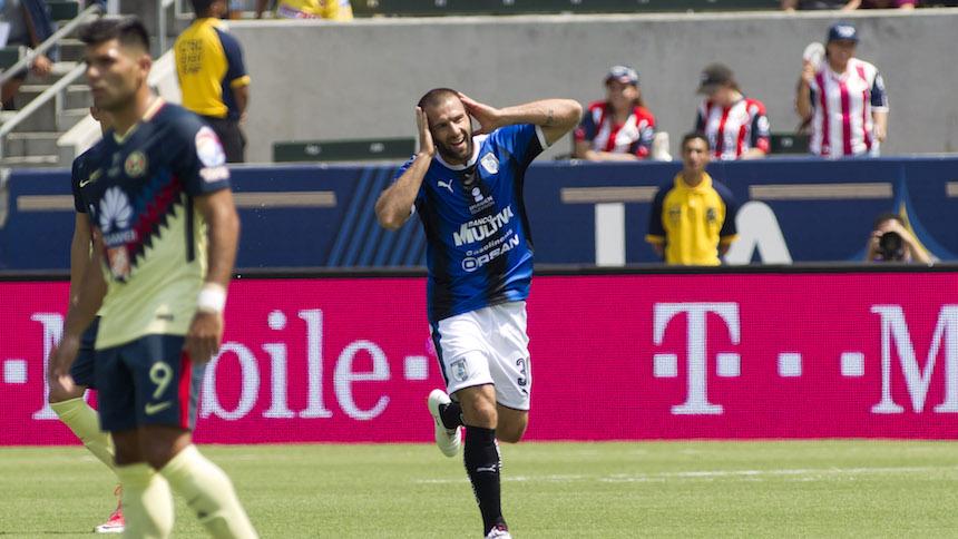 Querétaro derrota al América y se queda con la Súper Copa MX