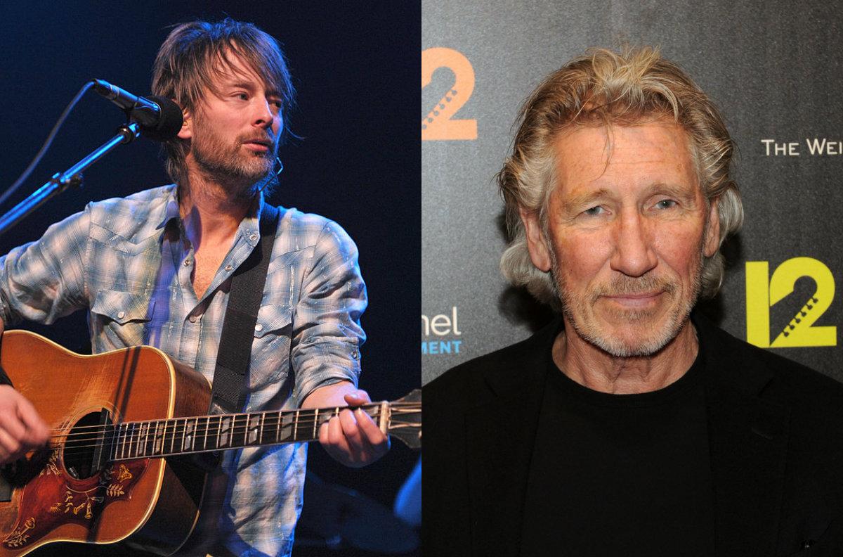 Roger Waters critica a Thom Yorke por show en Israel de Radiohead