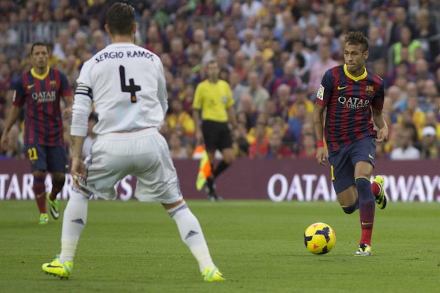 Sergio Ramos y Neymar