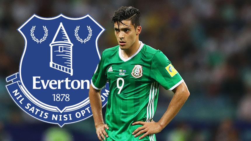 ¡BAM! Everton quiere a Raúl Jiménez para su delantera