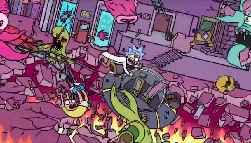 El nuevo corto de Rick and Morty