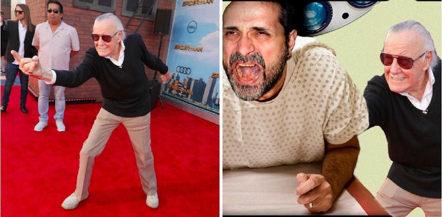 Stan Lee - Photoshop