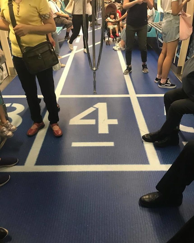 Pista de maratón - Metro