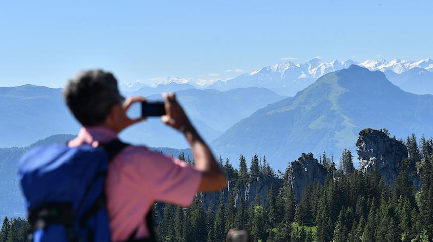 Vacaciones en las montañas