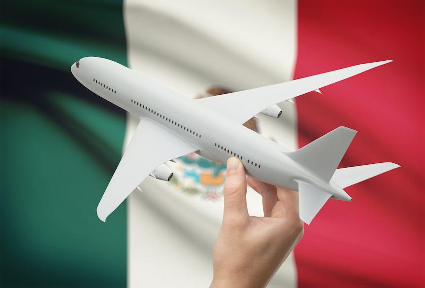 Implementan nuevas medidas para vuelos provenientes de México