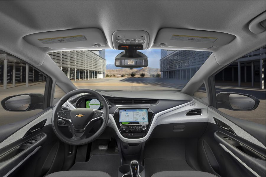 Interior Bolt rango extendido Chevrolet