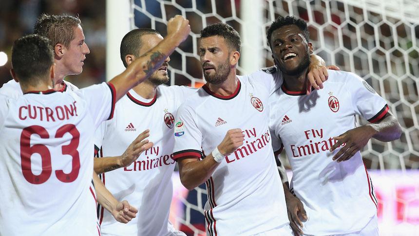 """El """"Nuevo AC Milan"""" debuta con triunfo en la Serie A"""