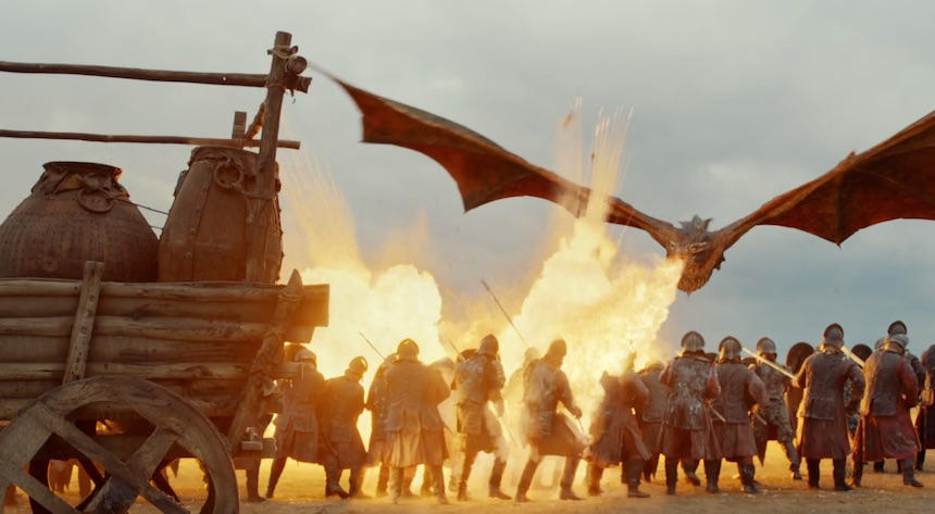 Game of Thrones - Batalla de Loot Train