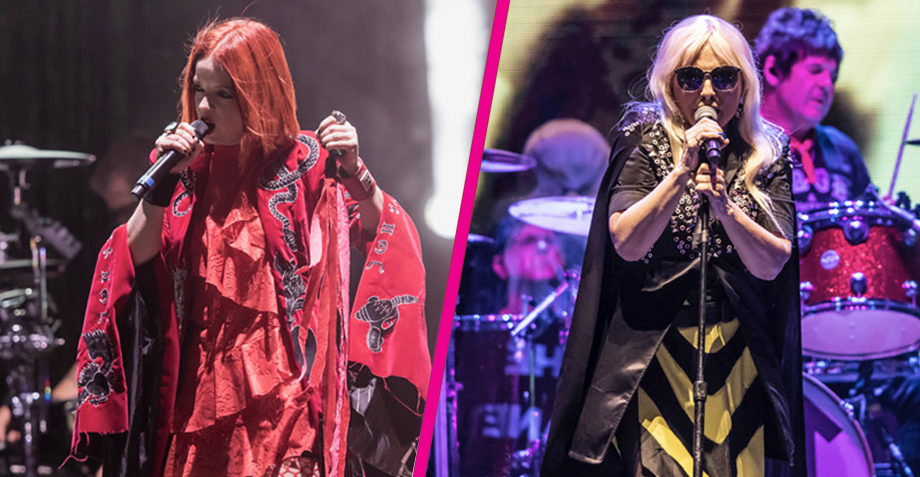 """Blondie y Garbage dieron una lección de """"girl power"""" en el Palacio de los Deportes"""