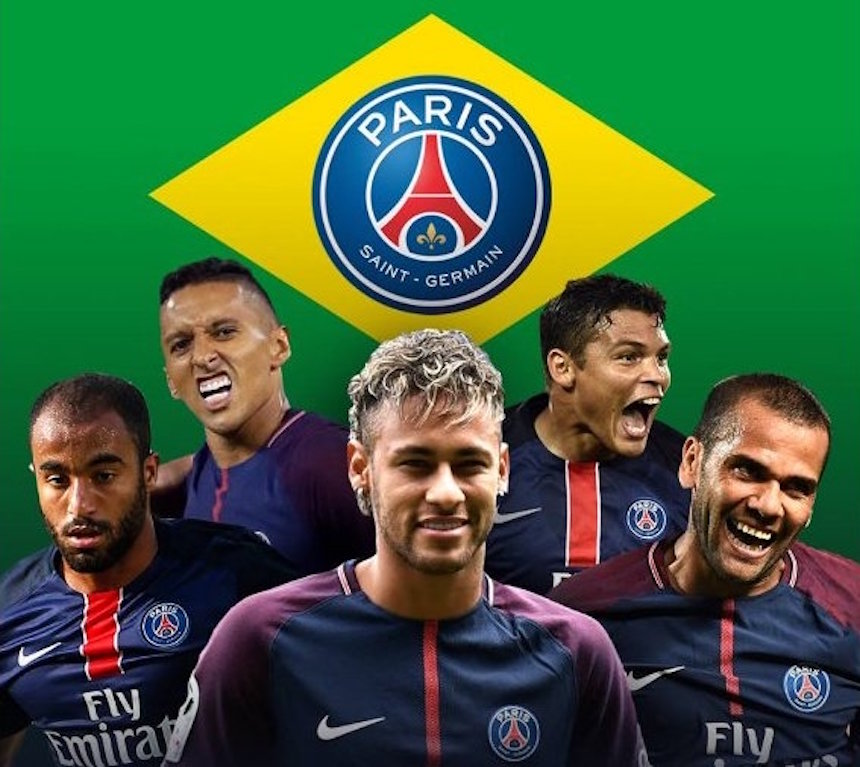 Lucas Moura Neymar Mp3: Neymar Convirtió Al PSG En El Brasil Saint-Germain
