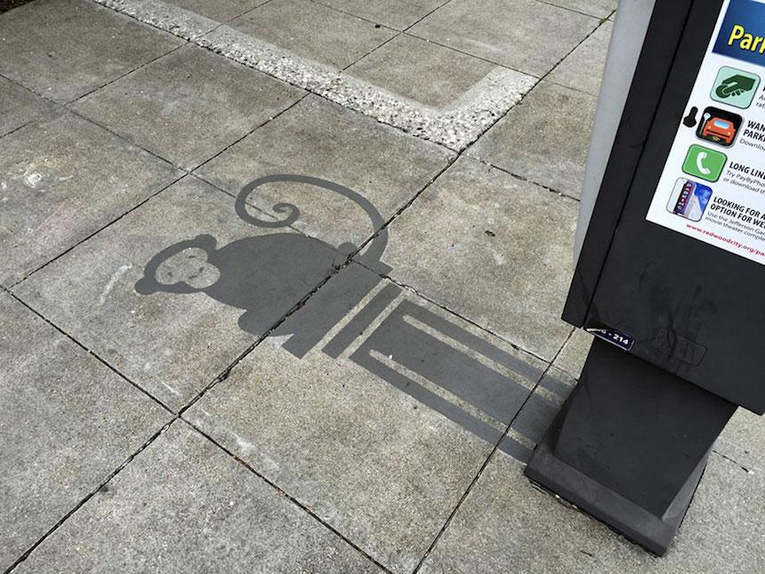 Artista callejero - Mono