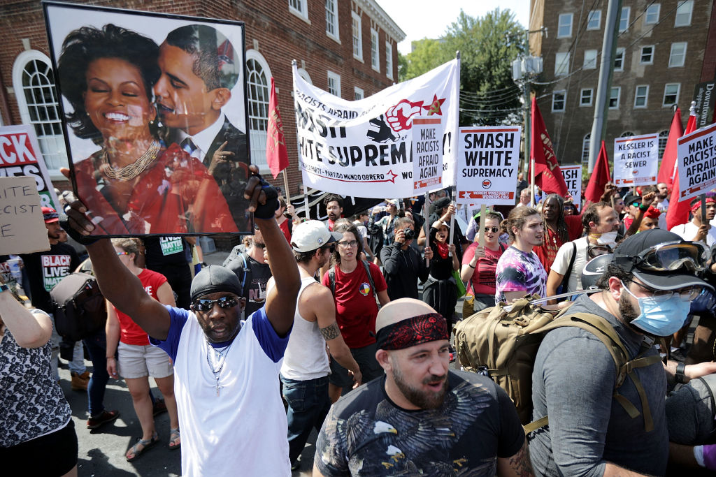 Manifestación en Charlottesville