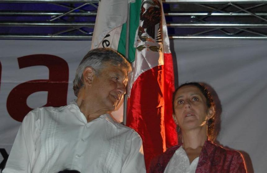Claudia Sheinbaum, la elegida de Morena