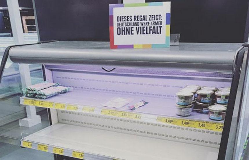 Alemania - Tienda vacía