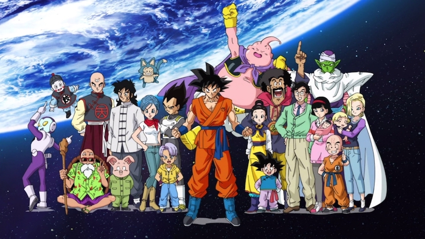 Dragon Ball Super - Personajes