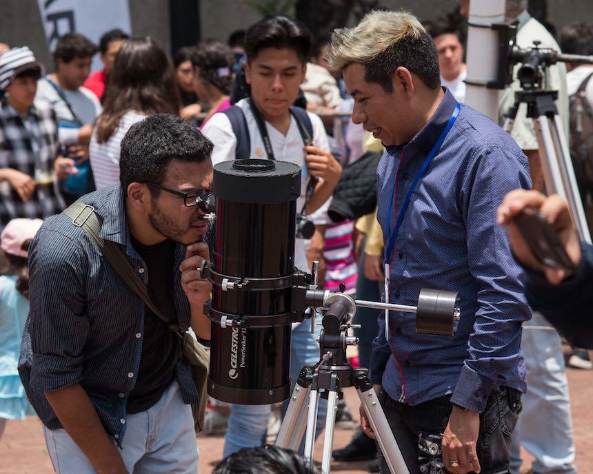 Delegación Benito Juárez - Telescopios