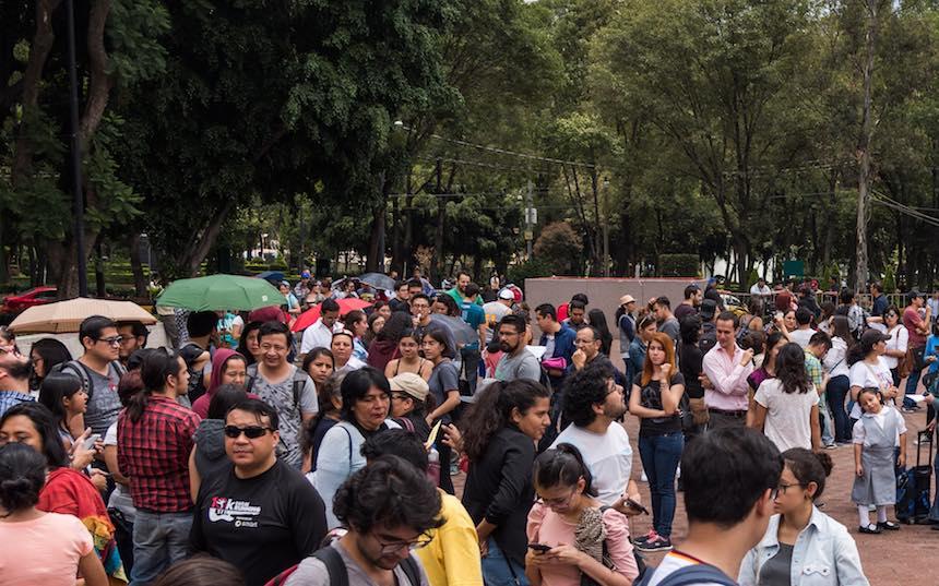 Delegación Benito Juárez - Evento de eclipse
