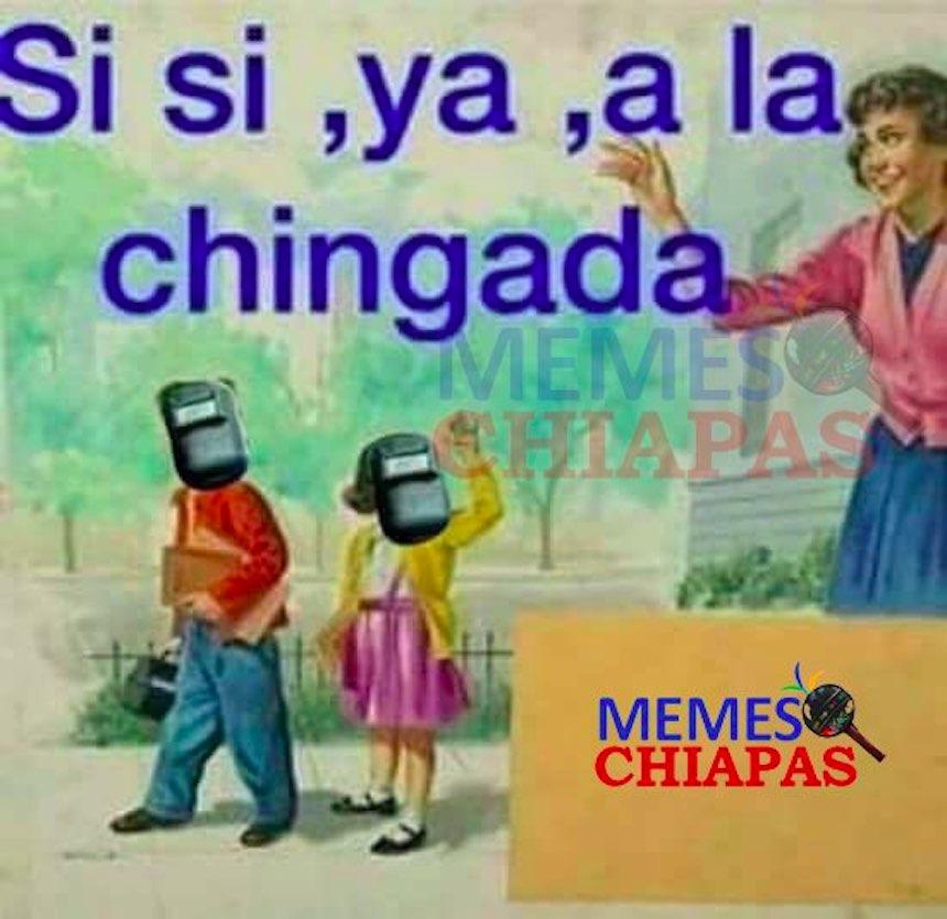 Memes del eclipse - Niños