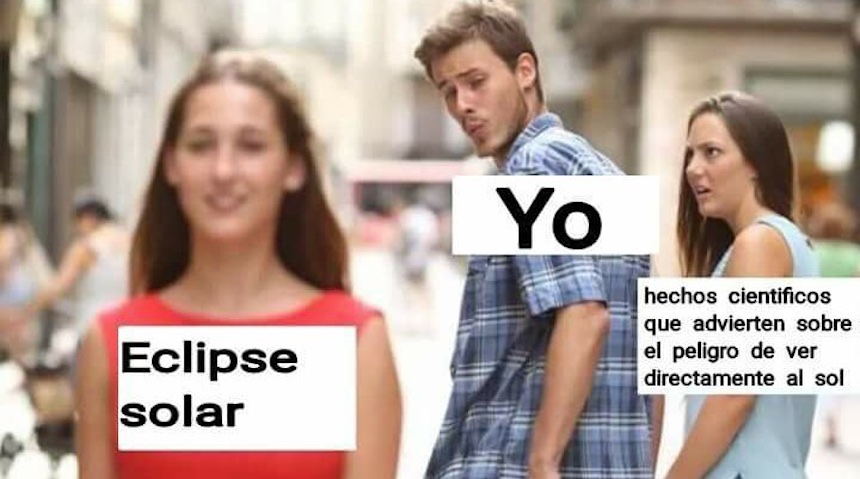 Memes del eclipse - Novio