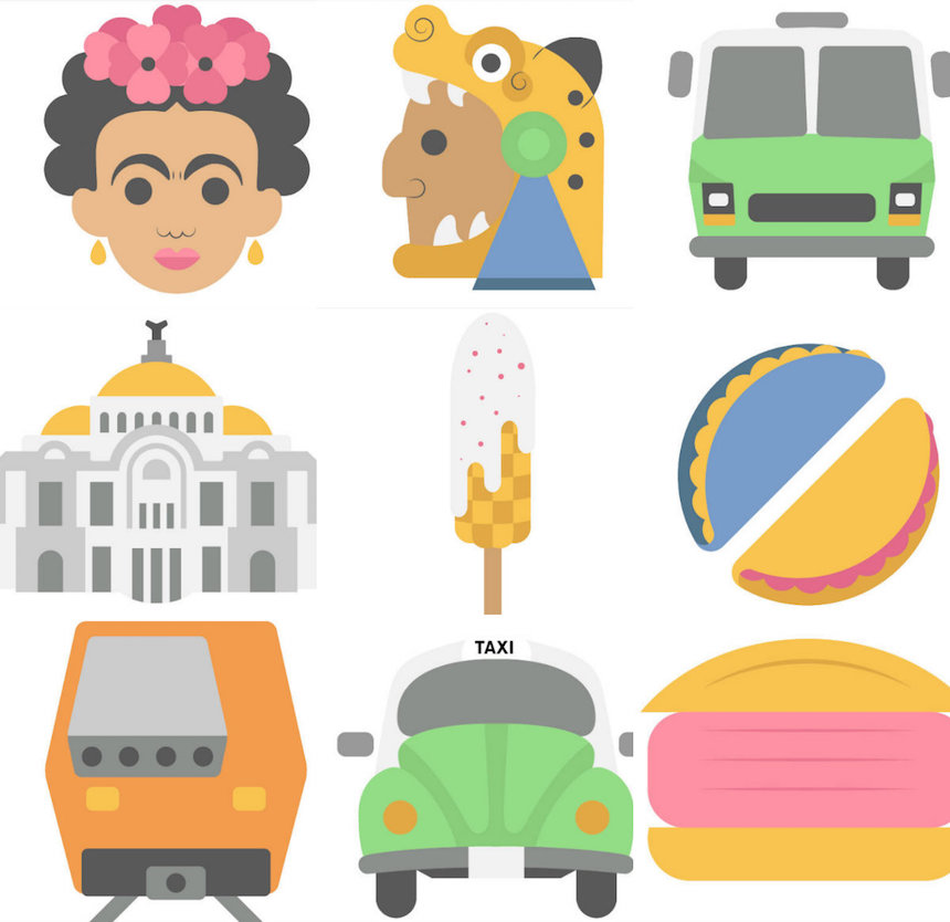 Estos son los emojis que representan a la Ciudad de México