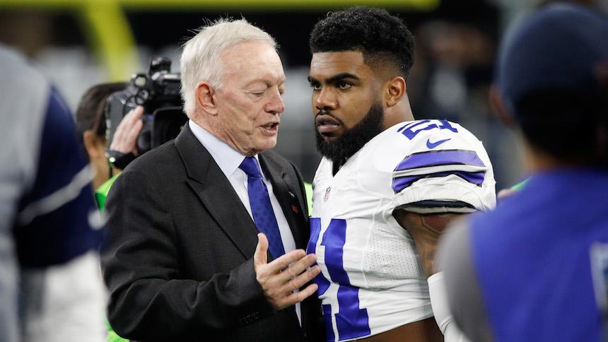 Malas noticias Cowboys: Ezekiel Elliott suspendido por seis partidos