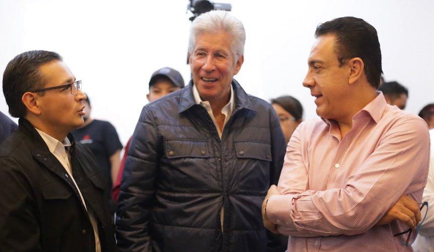 Gerardo Ruíz Esparza, secretario de Comunicaciones y Transportes