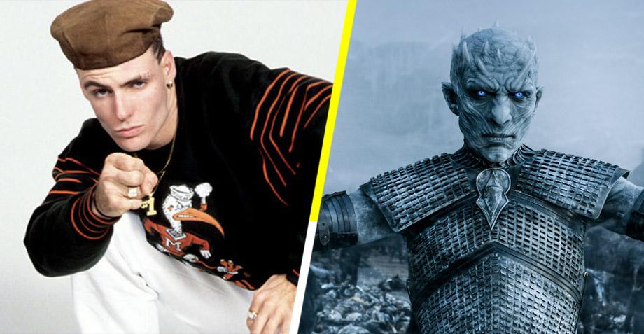 Vanilla Ice y Game of Thrones