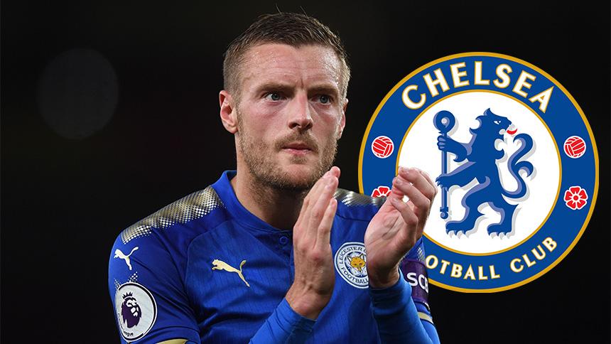 Jamie Vardy suena para ser el nuevo delantero del Chelsea