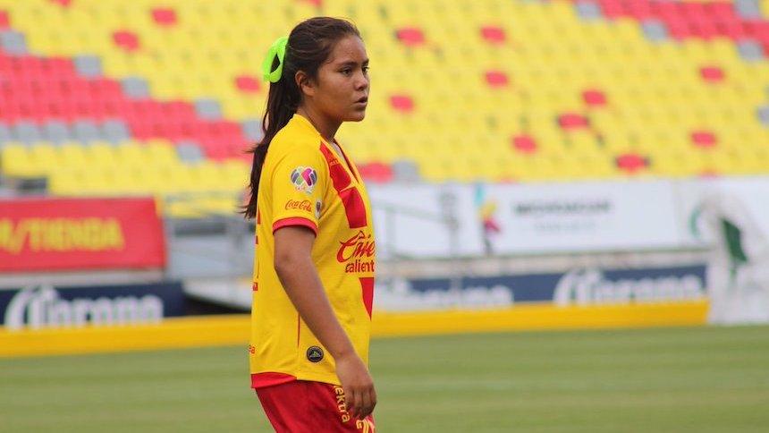 Monarcas Morelia debuta a jugadora de 12 años de edad