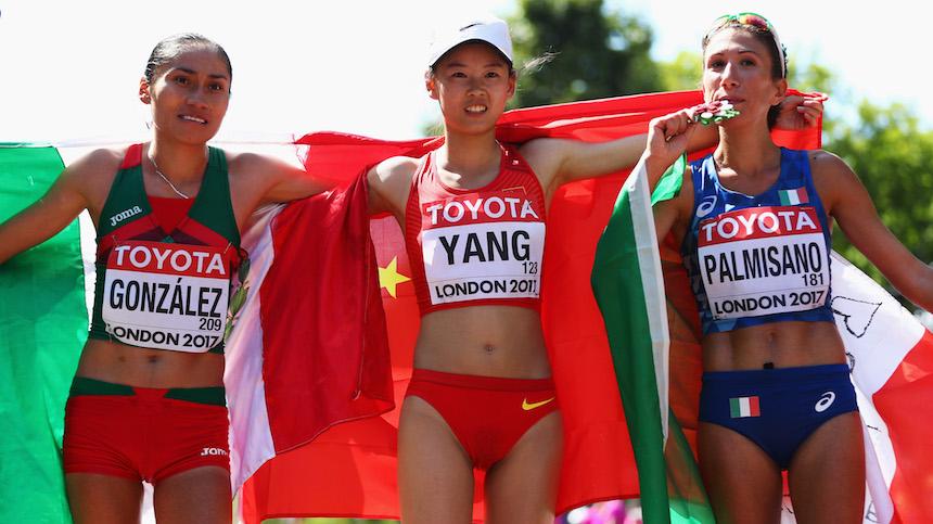 ¡Orgullo Nacional! Lupita González se quedó con la plata en el Mundial de Atletismo