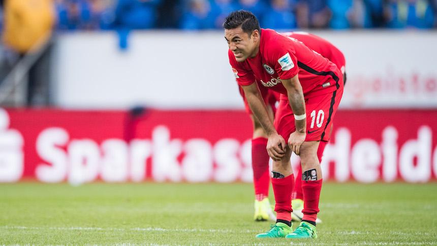 Marco Fabián no jugará con el Frankfurt en todo el 2017