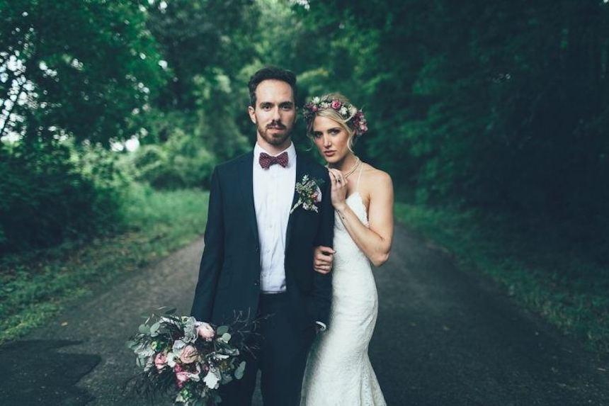 Kevin y su esposa